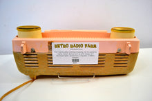 Load image into Gallery viewer, Cotillion Pink and Gold 1959 Motorola Model 5T13P Vacuum Tube AM Radio Sounds and Looks Heavenly! - [product_type} - Motorola - Retro Radio Farm