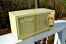 Load image into Gallery viewer, SOLD! - Aug 26, 2018 - BLUETOOTH MP3 Ready - Ivory Cream 1959-1960 General Electric Model T-141A Retro AM Clock Radio Works and Sounds Great! - [product_type} - General Electric - Retro Radio Farm