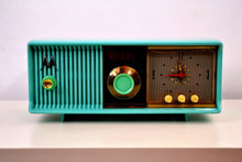 Load image into Gallery viewer, SOLD! - Jan 12, 2019 - Turquoise 1956 Motorola 56CD Tube AM Clock Radio - [product_type} - Motorola - Retro Radio Farm
