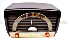 Load image into Gallery viewer, Sienna Brown 1950 Motorola Model 59X Tube AM Antique Radio Nice Performer Very Easy On The Eyes and Ears!