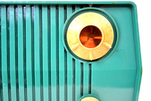 Load image into Gallery viewer, Bluetooth MP3 Ready - Green 1959 Admiral Model 4L28A AM Vintage Radio - [product_type} - Admiral - Retro Radio Farm