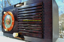 Load image into Gallery viewer, SOLD! - Dec 13, 2017 - Art Deco 1952 General Electric Model 60 AM Brown Bakelite Tube Clock Radio Totally Restored! - [product_type} - General Electric - Retro Radio Farm