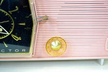 Load image into Gallery viewer, SOLD! - Feb 5, 2019 - Princess Pink Mid Century Retro RCA Victor C-51F 1959 Clock Radio - [product_type} - RCA Victor - Retro Radio Farm