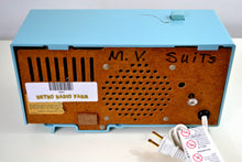 Load image into Gallery viewer, SOLD! - May 24, 2019 - Powder Blue 1959 General Electric Model C-404B Tube AM Clock Radio With Issues - [product_type} - General Electric - Retro Radio Farm