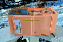 Load image into Gallery viewer, SOLD! - May 1, 2019 - Bluetooth MP3 Ready - Primrose Pink Mid Century 1959 General Electric Model C437A Tube AM Clock Radio Works Great! - [product_type} - General Electric - Retro Radio Farm
