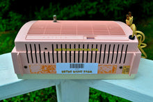 Load image into Gallery viewer, SOLD! - Oct 1, 2017 - PINK BEAUTY Mid-Century Retro Vintage 1959 Philco Model J772-124 AM Tube Clock Radio Totally Restored! - [product_type} - Philco - Retro Radio Farm