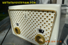 Load image into Gallery viewer, SOLD! - Dec 9, 2016 - BLUETOOTH MP3 READY - Rococo White Retro Vintage 1957 Emerson 850 AM Tube Radio Totally Restored! - [product_type} - Emerson - Retro Radio Farm