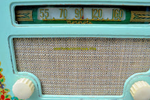 Load image into Gallery viewer, SOLD! - Sept 1, 2017 - COUNTRY COTTAGE Green 1940 Motorola 55x15 Tube AM Radio Original Factory Decals Excellent Condition! - [product_type} - Motorola - Retro Radio Farm