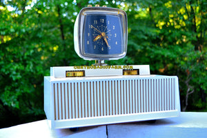 Plan 9 From Outer Space 1959 Philco Predicta Model H765-124 Tube AM Clock Radio Works Great! - [product_type} - Philco - Retro Radio Farm