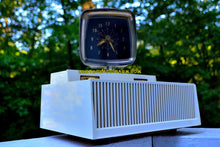 Load image into Gallery viewer, Plan 9 From Outer Space 1959 Philco Predicta Model H765-124 Tube AM Clock Radio Works Great! - [product_type} - Philco - Retro Radio Farm