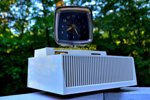 SOLD! - Dec. 3, 2018 - Plan 9 From Outer Space 1959 Philco Predicta Model H765-124 Tube AM Clock Radio Works Great! - [product_type} - Philco - Retro Radio Farm