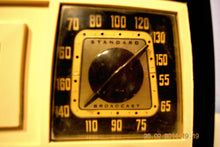 Load image into Gallery viewer, SOLD! - March 14, 2014 - BEAUTIFUL Retro Vintage Black Ivory 1951 Admiral 5J21N Tube AM Radio WORKS! , Vintage Radio - Admiral, Retro Radio Farm  - 9