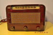 Load image into Gallery viewer, SOLD! - Oct 31, 2014 - BEAUTIFUL PRISTINE Rare Art Deco Retro 1946-48 BRANDES AM Tube Radio Works! Wow! , Vintage Radio - Brandes, Retro Radio Farm  - 3