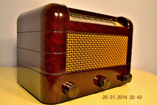 Load image into Gallery viewer, SOLD! - Oct 31, 2014 - BEAUTIFUL PRISTINE Rare Art Deco Retro 1946-48 BRANDES AM Tube Radio Works! Wow! , Vintage Radio - Brandes, Retro Radio Farm  - 2