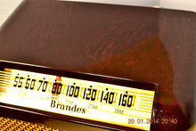 Load image into Gallery viewer, SOLD! - Oct 31, 2014 - BEAUTIFUL PRISTINE Rare Art Deco Retro 1946-48 BRANDES AM Tube Radio Works! Wow! , Vintage Radio - Brandes, Retro Radio Farm  - 6