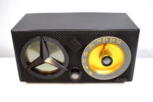 The Iconic Tri-Star 1955 Arvin Model 855T Vacuum Tube AM Radio A Collector's Dream!