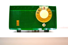 Load image into Gallery viewer, Lime Green 1958 Philco Model F815-124 Tube AM Radio Totally Restored Rare Color! - [product_type} - Philco - Retro Radio Farm