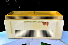 Load image into Gallery viewer, SOLD! - Sept 20, 2017 - BUTTERSCOTCH Yellow Mid Century Retro Vintage 1958 General Electric Musaphonic T-116A Tube AM Radio Sounds Dreamy!