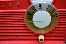 Load image into Gallery viewer, SOLD! - July 21, 2017 - BLUETOOTH MP3 READY - Salmon Pink Retro Mid Century Jetsons Vintage 1958 Philco E-814-124 AM Tube Radio Sounds Great! - [product_type} - Philco - Retro Radio Farm