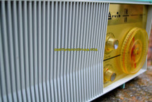 Load image into Gallery viewer, SOLD! - Dec. 18, 2017 - BLUETOOTH MP3 READY - AM FM TURQUOISE Retro Mid Century Jetsons Vintage 1962 Arvin Model 31R26 Tube Radio Amazing! - [product_type} - Arvin - Retro Radio Farm
