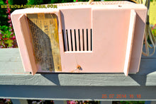 Load image into Gallery viewer, SOLD! - Oct 21, 2014 - PINK AND WHITE Atomic Age Vintage 1959 RCA Victor Model X-2EF Tube AM Radio WORKS! - [product_type} - RCA Victor - Retro Radio Farm