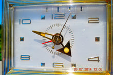 Load image into Gallery viewer, SOLD! - Nov 26, 2014 - PRINCESS Pink Retro Jetsons 1962 Bulova Model 180 Tube AM Clock Radio WORKS! , Vintage Radio - Bulova, Retro Radio Farm  - 5