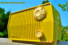 Load image into Gallery viewer, SOLD! - Sept 7, 2014 - BUTTER YELLOW Retro Jetsons Vintage 1959 Admiral 4L26A Tube AM Radio WORKS! , Vintage Radio - Admiral, Retro Radio Farm  - 2