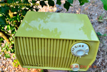 Load image into Gallery viewer, SOLD! - Sept 7, 2014 - BUTTER YELLOW Retro Jetsons Vintage 1959 Admiral 4L26A Tube AM Radio WORKS! - [product_type} - Admiral - Retro Radio Farm