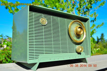 Load image into Gallery viewer, SOLD! - Oct 11, 2014 - OLIVE DRAB Retro Jetsons Vintage 1956 RCA Victor 6-X-5 Tube AM Radio WORKS! , Vintage Radio - RCA Victor, Retro Radio Farm  - 4