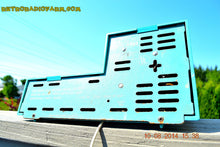 Load image into Gallery viewer, SOLD! - Aug 13, 2014 - Sky Blue SPLIT LEVEL Wacky Looking Retro 1960's or 1970's Wards Airline GEN-1703A AM Works! - [product_type} - Admiral - Retro Radio Farm