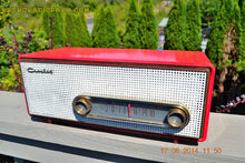 Load image into Gallery viewer, SOLD! - Sept 2, 2014 - CORAL PINK Retro Vintage 1950's Crosley T-60 RD AM Tube Radio WORKS! , Vintage Radio - Crosley, Retro Radio Farm  - 2