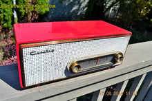Load image into Gallery viewer, SOLD! - Sept 2, 2014 - CORAL PINK Retro Vintage 1950's Crosley T-60 RD AM Tube Radio WORKS! , Vintage Radio - Crosley, Retro Radio Farm  - 3