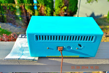 Load image into Gallery viewer, SOLD! - Oct 1, 2014 - SEAFOAM GREEN Retro Jetsons Vintage 1958 Admiral Model 248 AM Tube Radio WORKS! , Vintage Radio - Admiral, Retro Radio Farm  - 7