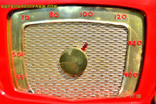 Load image into Gallery viewer, SOLD! - Sept 28, 2014 - CARDINAL RED Retro Vintage 1951 Silvertone Model 5 AM Tube Radio WORKS! , Vintage Radio - Silvertone, Retro Radio Farm  - 8