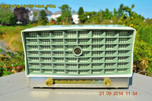 Load image into Gallery viewer, SOLD! - Oct 17, 2014 - PISTACHIO GREEN Retro Jetsons Vintage 1953 RCA Victor S-XD-5 Tube Radio WORKS! , Vintage Radio - RCA Victor, Retro Radio Farm  - 1