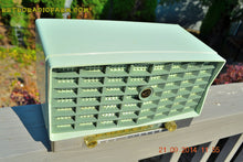 Load image into Gallery viewer, SOLD! - Oct 17, 2014 - PISTACHIO GREEN Retro Jetsons Vintage 1953 RCA Victor S-XD-5 Tube Radio WORKS! , Vintage Radio - RCA Victor, Retro Radio Farm  - 6
