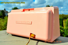 Load image into Gallery viewer, SOLD! - Sept 30, 2014 - POWDER PINK Retro Jetsons Vintage 1958 RCA 1-RA-43 AM Tube Radio WORKS! - [product_type} - RCA Victor - Retro Radio Farm