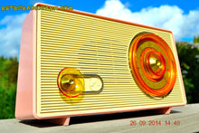 Load image into Gallery viewer, SOLD! - Sept 30, 2014 - POWDER PINK Retro Jetsons Vintage 1958 RCA 1-RA-43 AM Tube Radio WORKS! , Vintage Radio - RCA Victor, Retro Radio Farm  - 5