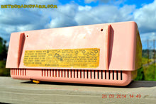 Load image into Gallery viewer, SOLD! - Sept 30, 2014 - POWDER PINK Retro Jetsons Vintage 1958 RCA 1-RA-43 AM Tube Radio WORKS! , Vintage Radio - RCA Victor, Retro Radio Farm  - 9