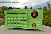 Load image into Gallery viewer, SOLD!- Nov. 8, 2014 BIANCHI GREEN Vintage 1955 Admiral 5R3 AM Tube Radio - [product_type} - Admiral - Retro Radio Farm