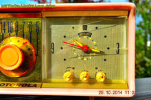 Load image into Gallery viewer, SOLD! - Nov 28, 2014 - PINK PUSSYCAT Retro Jetsons 1957 Motorola 57CC Tube AM Clock Radio WORKS! , Vintage Radio - Motorola, Retro Radio Farm  - 7