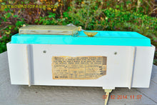 Load image into Gallery viewer, SOLD! - Dec 13, 2014 - TURQUOISE Retro Jetsons Vintage 1957 RCA Victor Model C-3HE AM Tube Radio WORKS! - [product_type} - RCA Victor - Retro Radio Farm