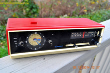 Load image into Gallery viewer, SOLD! - Jan 29, 2015 - MATADOR RED and white AM/FM Retro Vintage 1960's Westinghouse Model RLF4220A Solid State Radio WORKS! - [product_type} - Westinghouse - Retro Radio Farm