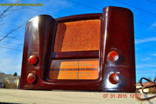 Load image into Gallery viewer, SOLD! - Oct 17, 2015 - ART DECO 1948 Stromberg Carlson Model 1204 AM/FM Brown Swirly Marbled Bakelite Tube Radio Totally Restored! , Vintage Radio - Stromberg Carlson, Retro Radio Farm  - 5