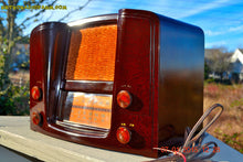Load image into Gallery viewer, SOLD! - Oct 17, 2015 - ART DECO 1948 Stromberg Carlson Model 1204 AM/FM Brown Swirly Marbled Bakelite Tube Radio Totally Restored! , Vintage Radio - Stromberg Carlson, Retro Radio Farm  - 1