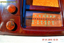 Load image into Gallery viewer, SOLD! - Oct 17, 2015 - ART DECO 1948 Stromberg Carlson Model 1204 AM/FM Brown Swirly Marbled Bakelite Tube Radio Totally Restored! , Vintage Radio - Stromberg Carlson, Retro Radio Farm  - 8