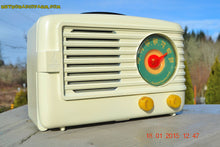 Load image into Gallery viewer, SOLD! - March 29, 2015 - BEAUTIFUL ART DECO Ivory Retro Vintage 1950 Emerson 642 Bakelite AM Tube Radio Totally Restored! , Vintage Radio - Emerson, Retro Radio Farm  - 2