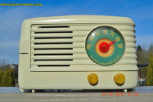 Load image into Gallery viewer, SOLD! - March 29, 2015 - BEAUTIFUL ART DECO Ivory Retro Vintage 1950 Emerson 642 Bakelite AM Tube Radio Totally Restored! , Vintage Radio - Emerson, Retro Radio Farm  - 5