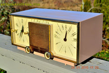 Load image into Gallery viewer, SOLD! - Mar 15, 2016 - BEIGE Pink Mid Century Retro Zenith Model G516L AM Clock Radio Totally Restored! , Vintage Radio - Zenith, Retro Radio Farm  - 2