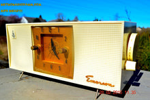 Load image into Gallery viewer, SOLD! - April 8, 2015 - BLUETOOTH MP3 READY - SNOW WHITE Retro Jetsons 1956 Emerson 825 Tube AM Clock Radio Totally Restored! - [product_type} - Emerson - Retro Radio Farm